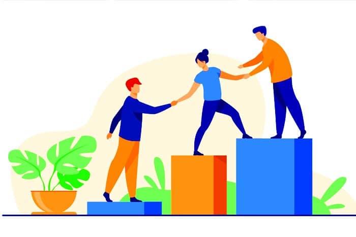 mentor profissional networking profissional corpo