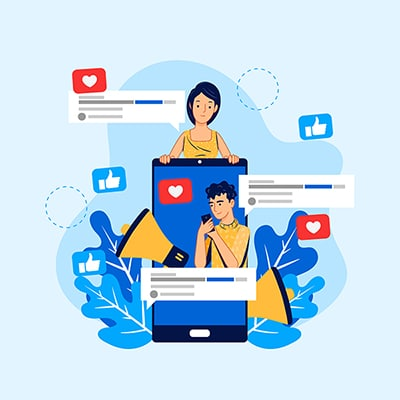 publicidade e propaganda - publicidade em redes sociais, likes e anuncios