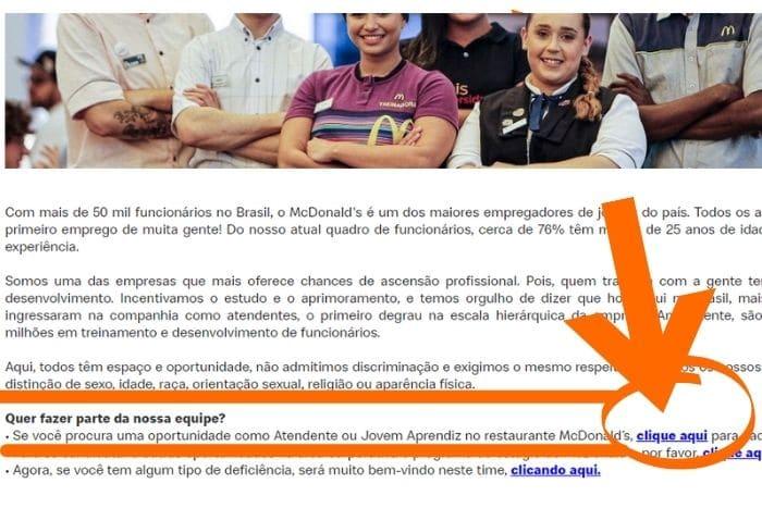 Mentor Profissional - Jovem Aprendiz McDonald's