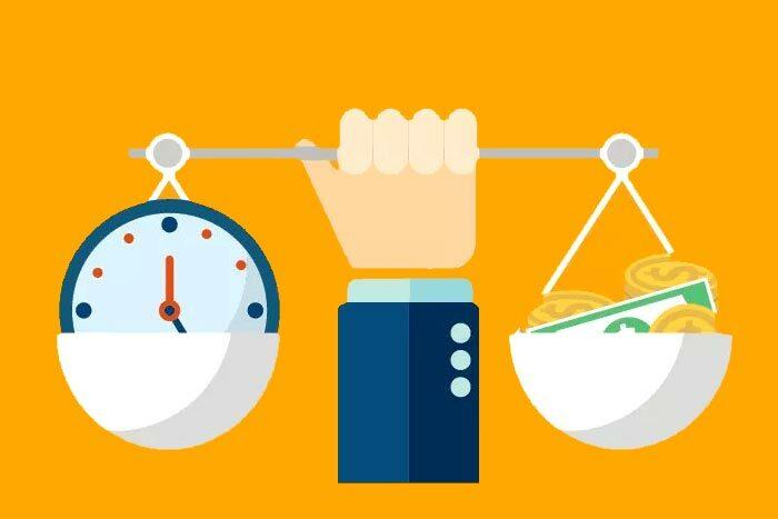 Mentor profissional hora extra de trabalho corpo