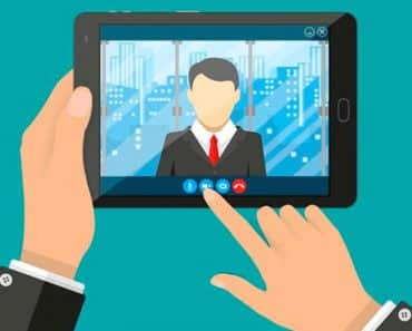 mentor profissional video conferência