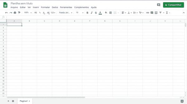 1 - Planilha de Gastos Excel
