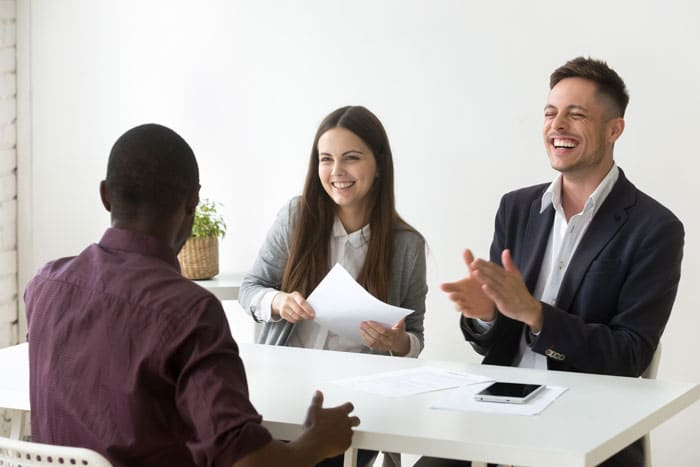 Mentor Profissional Perguntas de entrevista de emprego corpo