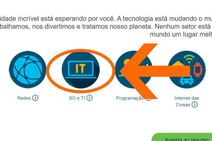 Mentor Profissional Cursos Gratuitos Cisco corpo